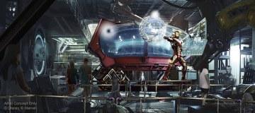 Marvel-Themed Attraction