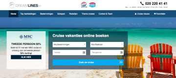 Dreamlines koopt Cruise1st en betreedt de Britse markt