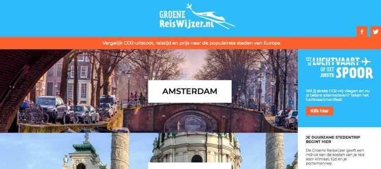 Greenpeace lanceert 'Groene Reiswijzer'