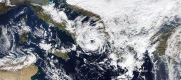 Serieuze kans op orkaan Middellandse Zeegebied
