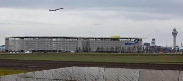 Verdubbeling overdekt parkeren P3 garage Schiphol