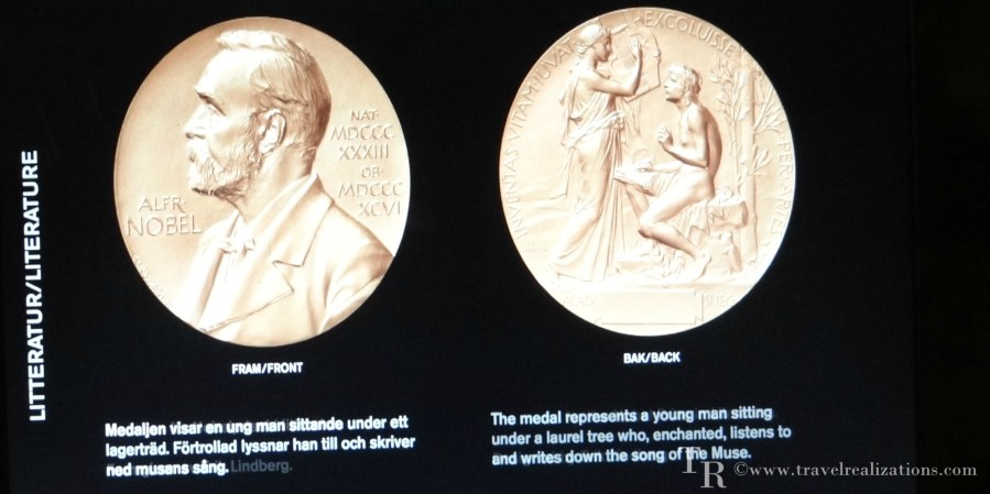 Replica of Nobel Prize for Literature
