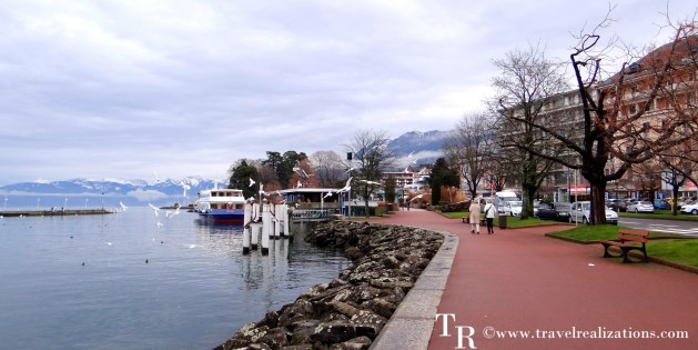 A day in the romantic French town of Evian