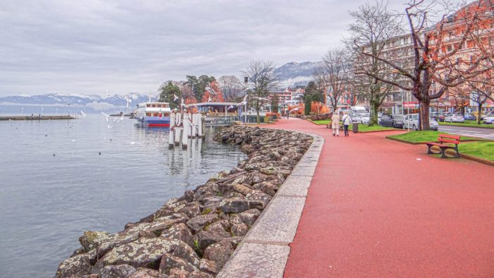 A day in the romantic French town of Evian!