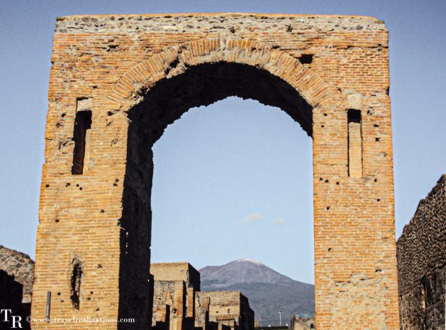 Exploring the threshold of death -Mount Vesuvius, Travel Realizations , Pompeii
