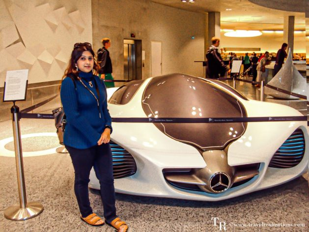 """The Best or Nothing"" - The Mercedes-Benz Museum in Stuttgart, Germany, Travel Realizations concept cars"