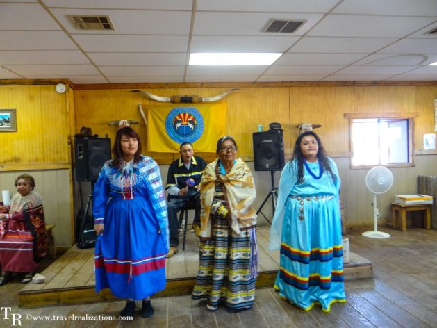 Travel Realizations, Hualapai Ranch, Grand Canyon, Hualapai Lodge, Breakfast, dining hall, American Indian dancers