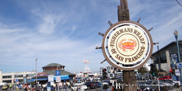 Fisherman's Wharf at San Francisco , California, USA
