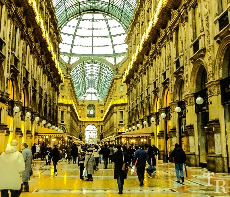 Galleria Vittorio Emanuele - shopping arcade Milan, Italy