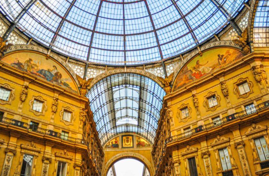 Galleria Vittorio Emanuele – a shopping arcade in Milan, Italy!