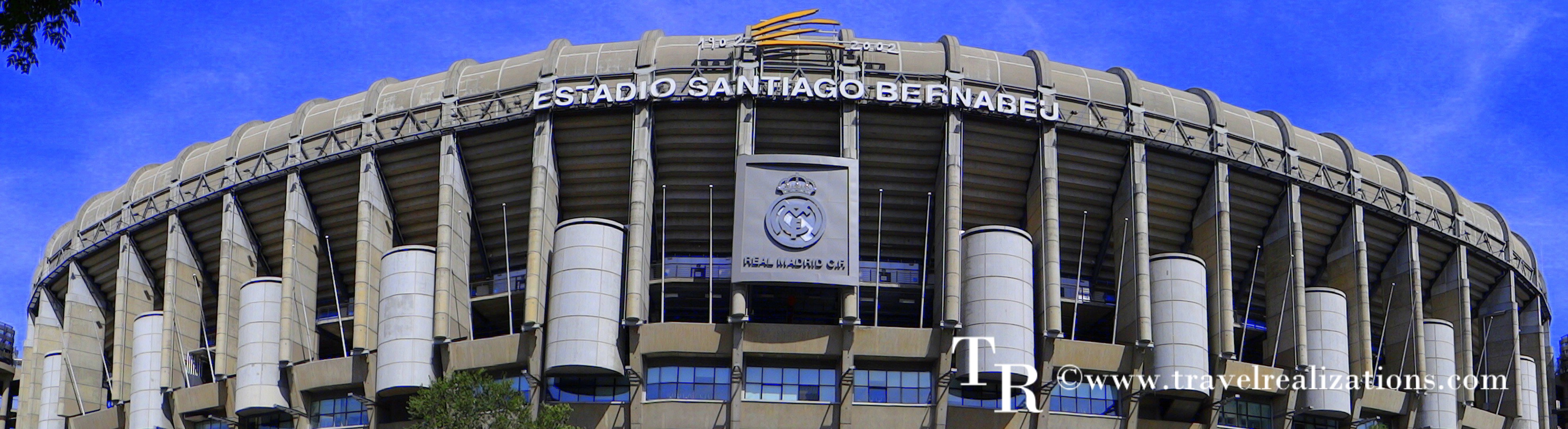 Santiago Bernabeu Stadium - The home of Real Madrid!