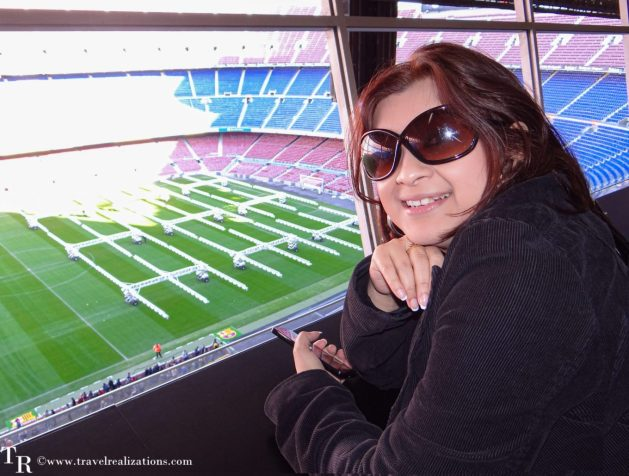 Camp Nou Stadium - The home of Football Club Barcelona, Travel Realizations