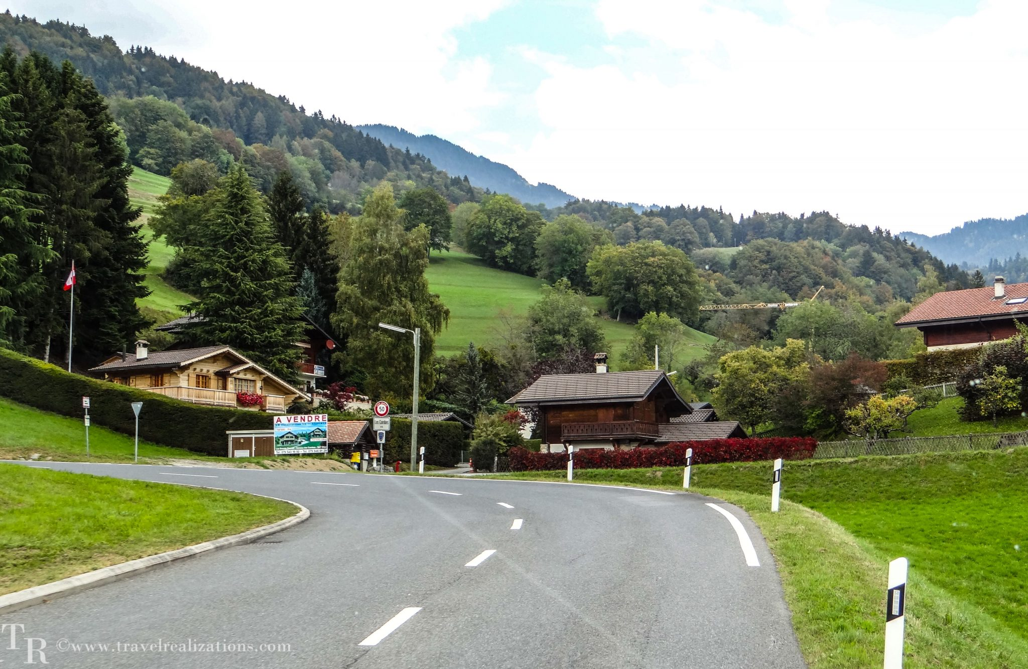 Villars-sur-Ollon - A beautiful Swiss village!
