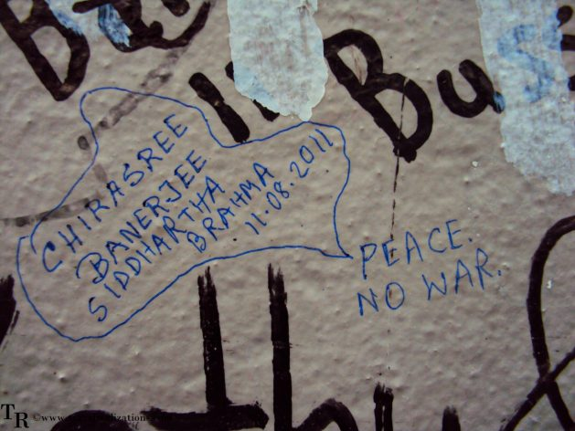 The Berlin Wall!, Travel Realizations