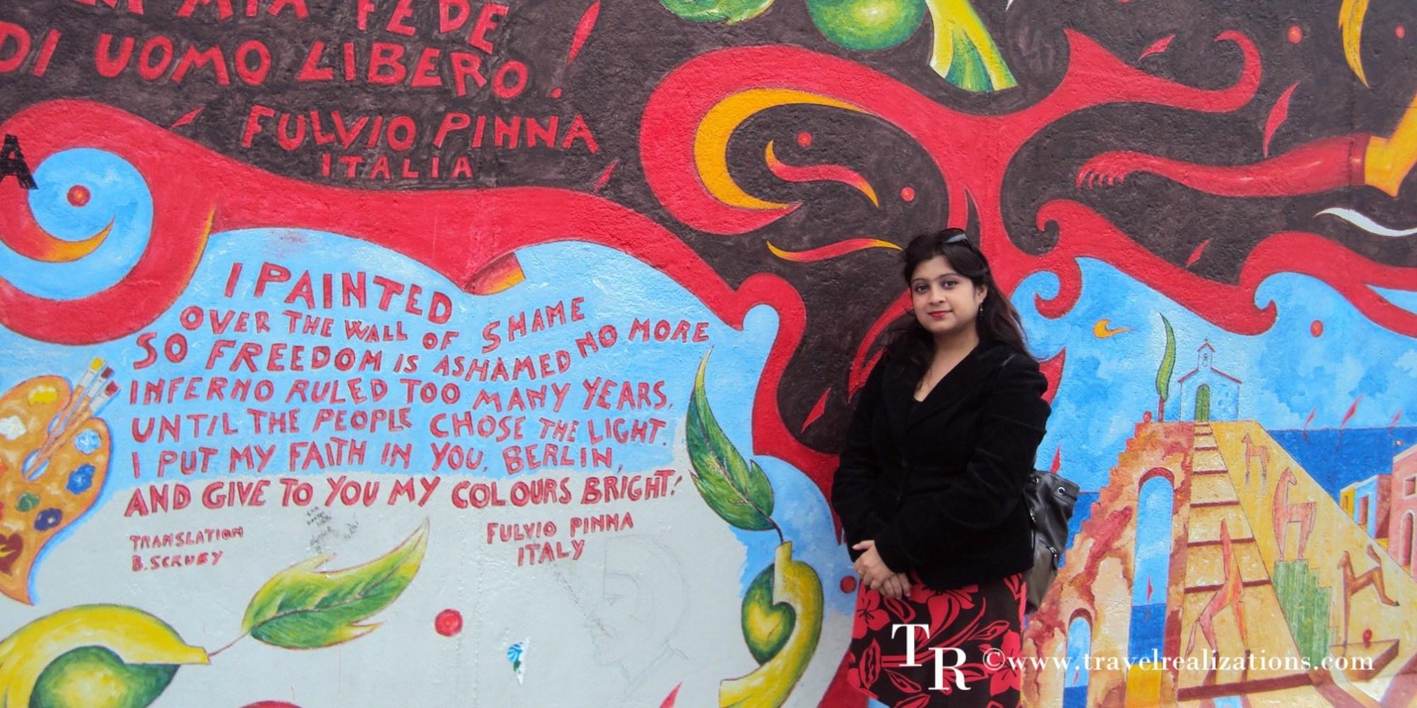 The Berlin Wall!