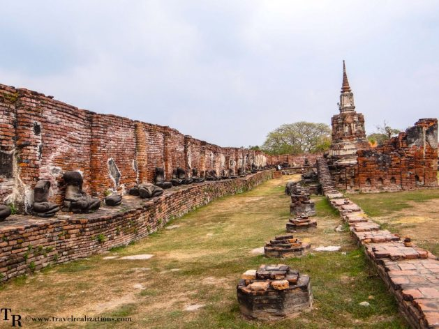 """The imprints of time at """"Wat Maha That"""" in Ayutthaya, Thailand, Travel Realizations, Buddha statue"""