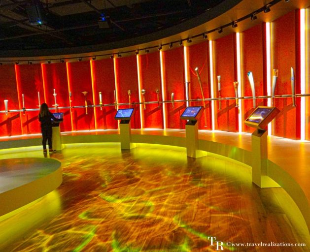 The Olympic flame in the Olympic Museum in Lausanne, Switzerland, Travel Realizations