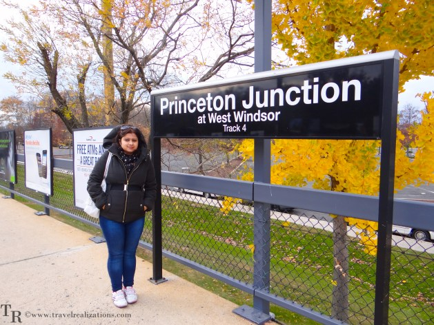 Travel Realizations, fall, autumn, Princetom campus