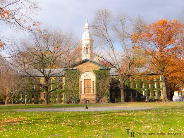 Travel Realizations, fall, autumn, Princeton campus
