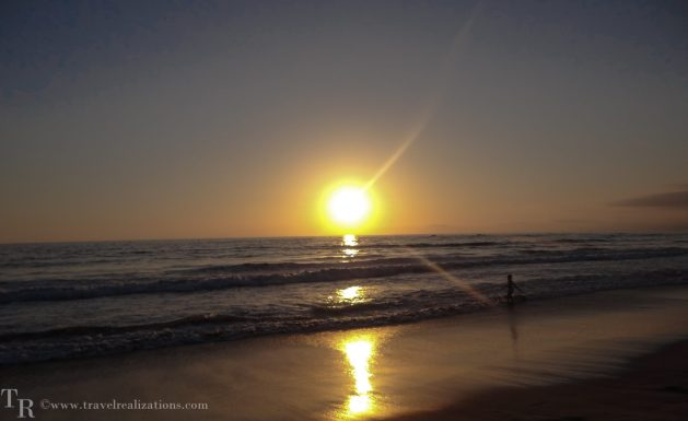 Travel Realizations, Sunsets, Santa Monica beach, Los Angeles, USA