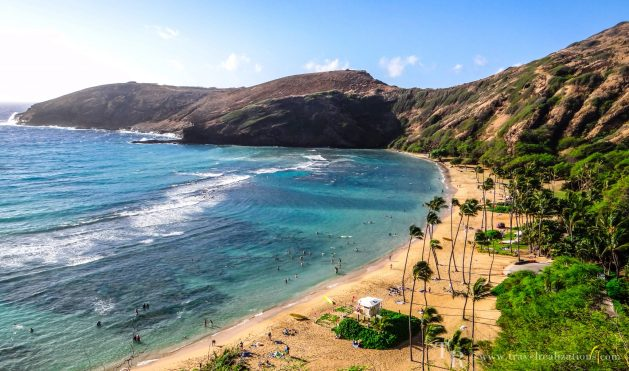 Hanauma Bay in Oahu, Hawaii!