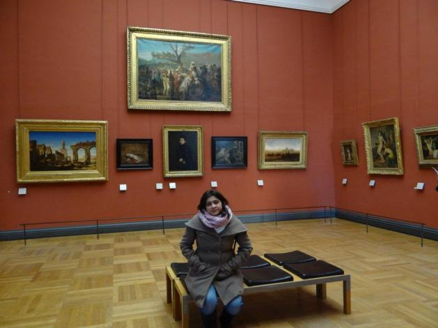 Travel Realizations, Paintings in the Louvre, Paris