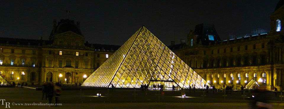 Beautiful paintings in the Louvre, Paris -  world's largest museum!
