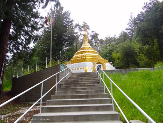 Travel Realizations, California, Buddha temple, Red wood Big basin state park, Taungpulu Kaba-Aye Monastery