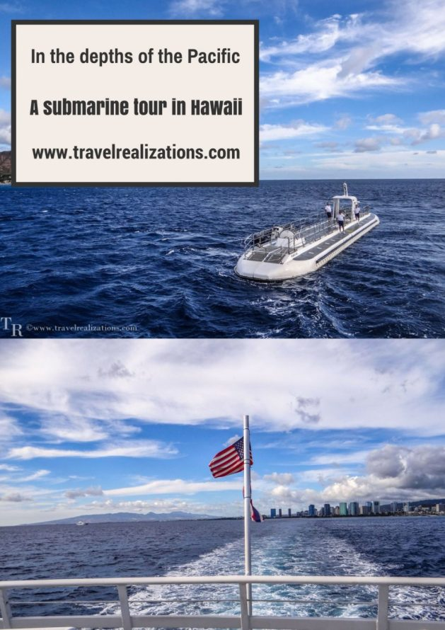 The world inside the sea is different; dark yet colorful; calm yet wild and known yet unknown. No amount of words can describe the thrill and beauty of the Atlantis submarine tour in Hawaii, 100 ft below the Pacific. #Hawaii #Travel #Submarine #Travelblog #USA