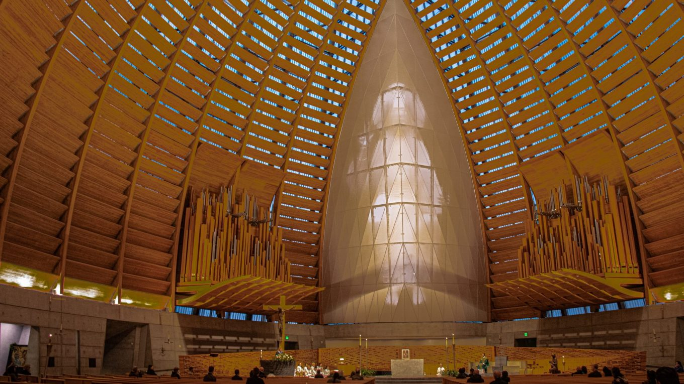 Digital Jesus in The Cathedral of Christ The Light!