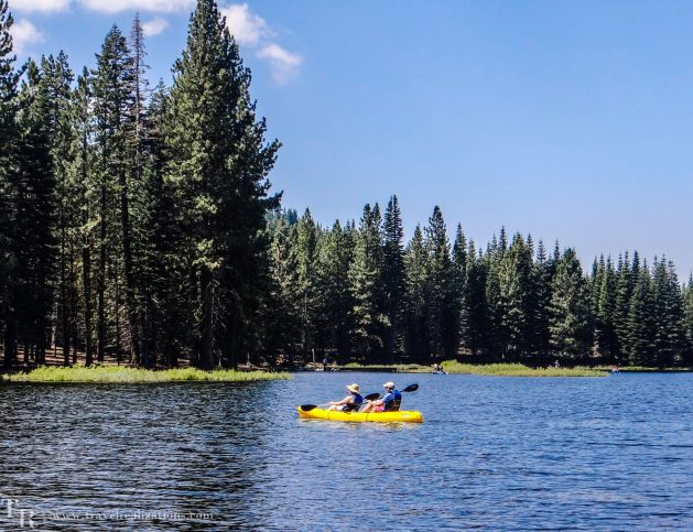 Manzanita Lake in Lassen, California - A photo essay, Travel Realizations, kayaking