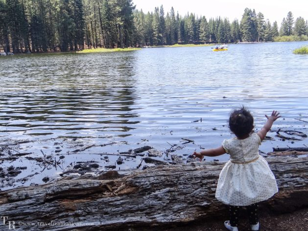 Manzanita Lake in Lassen, California - A photo essay, Travel Realizations, baby girl