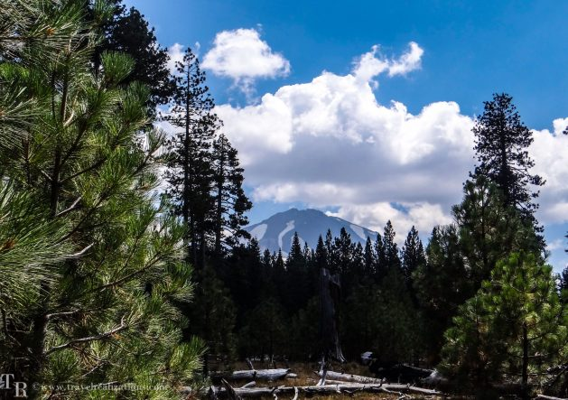 Manzanita Lake in Lassen, California - A photo essay, Travel Realizations, Lassen Peak