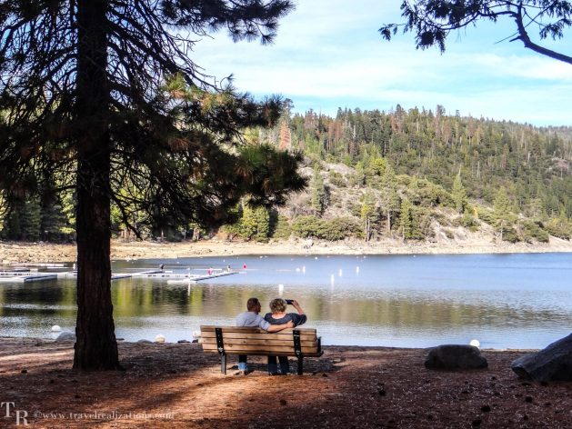 Glimpses of romantic California, Travel Realizations, Pinecrest Lake, Stanislaus forest