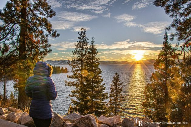 Lake Tahoe, the largest alpine lake in North America, Travel Realizations