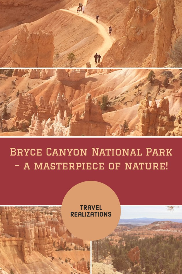 Hundreds of pictures of the Bryce Canyon national park in digital media failed to prepare me for what I saw; it is one indescribable masterpiece of nature. #USA #BryceCanyon #Travel #TravelTips