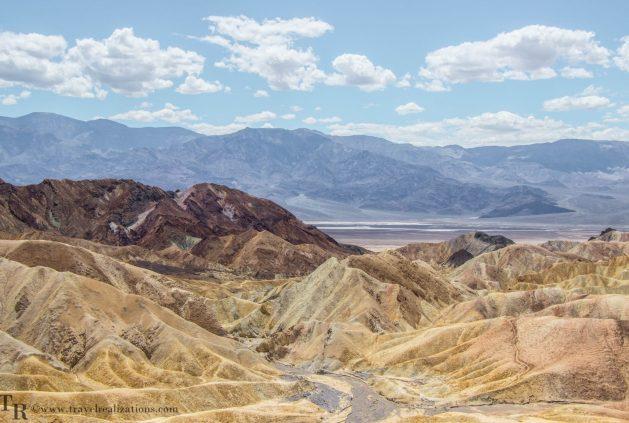 Death Valley National Park- A water-less wonder, Travel Realizations, Photo Essay, Death Valley, Zabriskie point