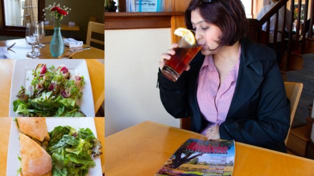 Trillium Cafe, Mendocino, California