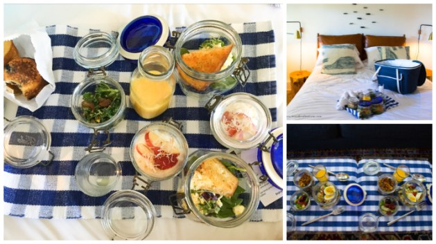 JD House - A beautiful boutique hotel in blooming Mendocino, California, JD House, USA. breakfast
