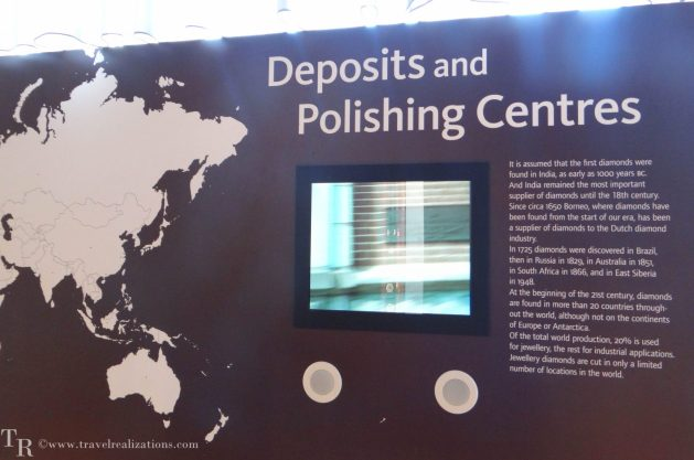 The story of Diamond in Amsterdam Diamond Museum, Travel Realizations