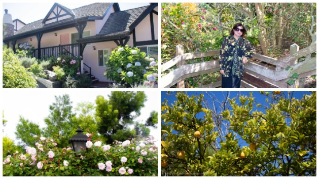 My happy and hearty moments at Hofsas House in Carmel, California!