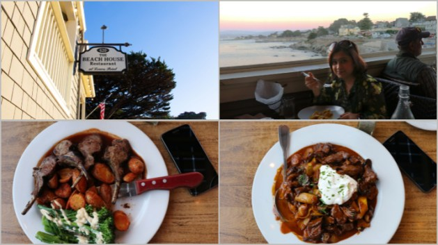 My happy and hearty moments at Hofsas House in Carmel, California, Beach House Restaurant