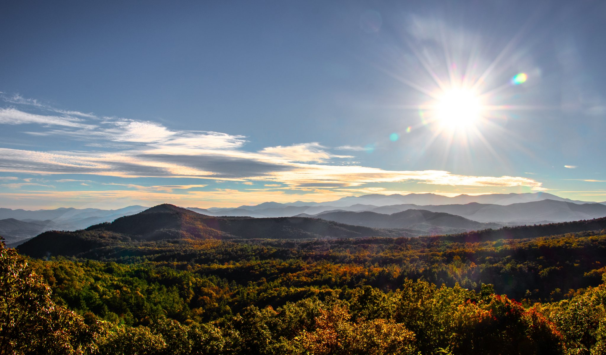 Blowing Rock - A beautiful mountain village in North Carolina, USA!