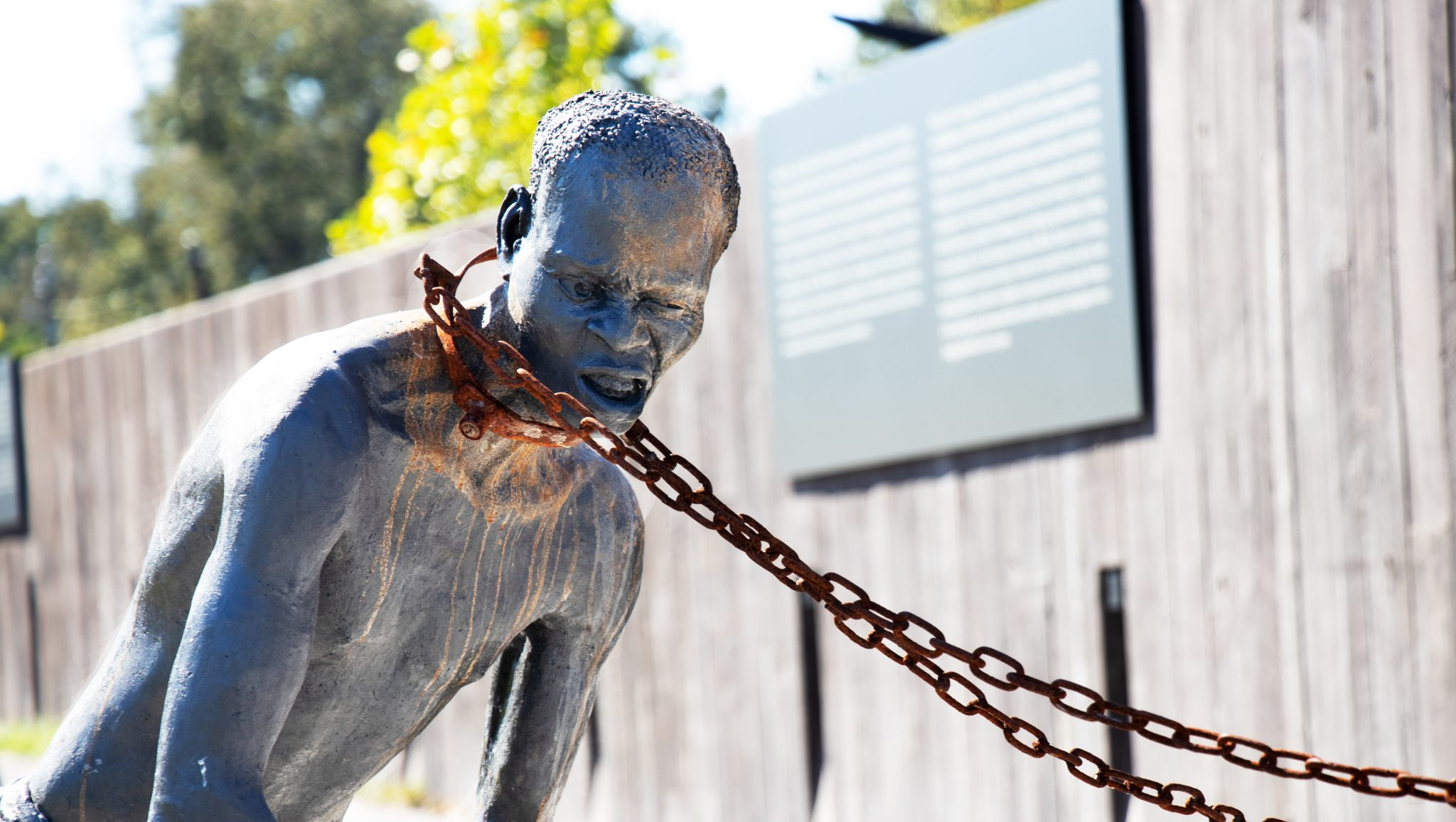 Lynching Memorial in Montgomery - The dark history of America