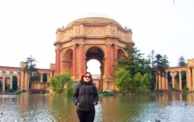 Best Views of San Francisco from an E-tuk, Travel Realizations, Palace of Fine Arts