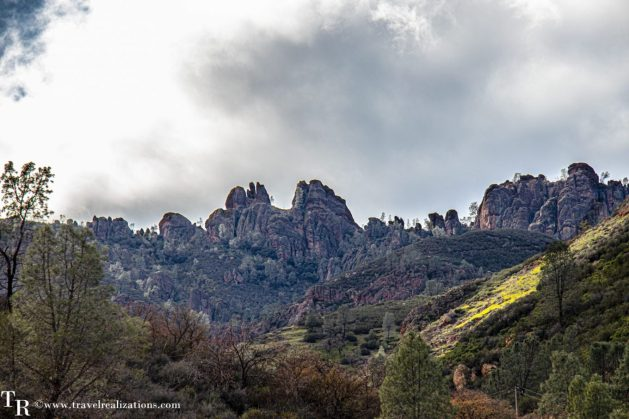 Postcards from Pinnacles National Park, Travel Realizations, peaks