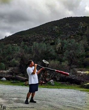 Postcards from Pinnacles National Park, Travel Realizations, Didgeridoo