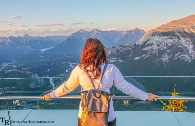 Chronicles of Canadian Rockies - Banff and Jasper, Travel Realizations, Banff Gondola