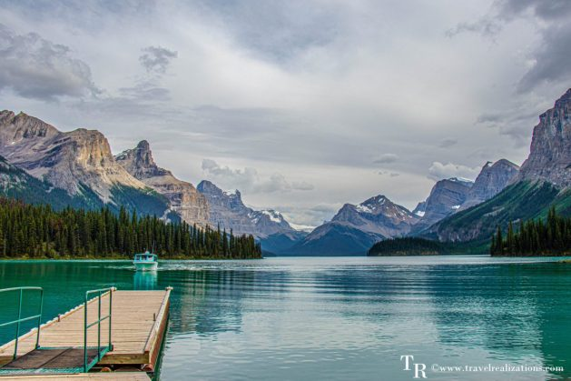Chronicles of Canadian Rockies - Banff and Jasper, Travel Realizations, Maligne Lake