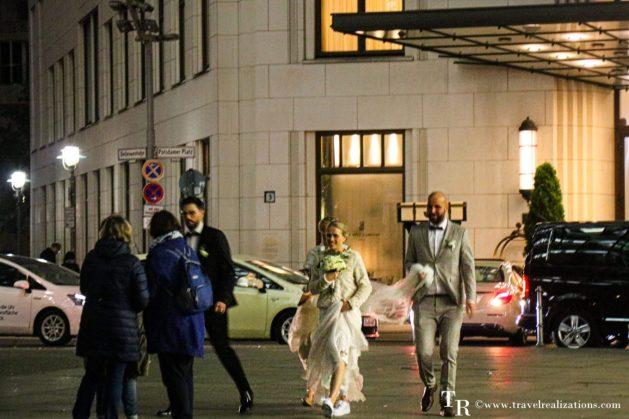 A fleeting witness of weddings, Travel Realizations, Berlin